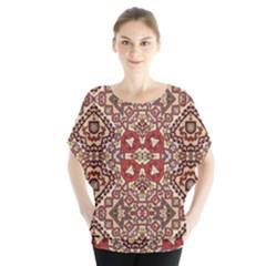 Seamless Pattern Based On Turkish Carpet Pattern Blouse