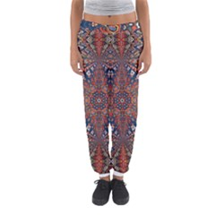 Armenian Carpet In Kaleidoscope Women s Jogger Sweatpants