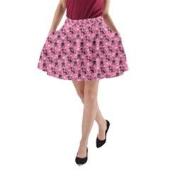 Cute Cats I A Line Pocket Skirt