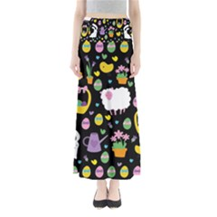 Cute Easter pattern Maxi Skirts