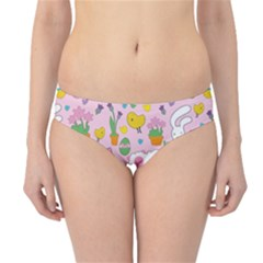 Cute Easter pattern Hipster Bikini Bottoms