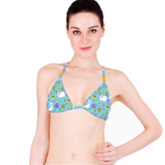 Cute Easter pattern Bikini Top