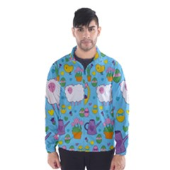 Cute Easter pattern Wind Breaker (Men)