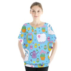 Cute Easter pattern Blouse