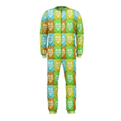 Colorful Happy Easter Theme Pattern OnePiece Jumpsuit (Kids)