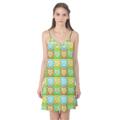 Colorful Happy Easter Theme Pattern Camis Nightgown