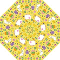 Cute Easter pattern Hook Handle Umbrellas (Large)