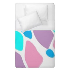 Baby Pink Girl Party Pattern Colorful Background Art Digital Duvet Cover (single Size)