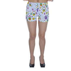 Cute Easter pattern Skinny Shorts