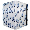 Water Drops On White Background Apple iPad 2 Flip Case View4
