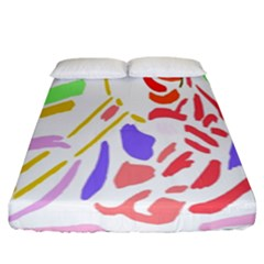 Motorcycle Racing The Slip Motorcycle Fitted Sheet (king Size)
