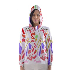 Motorcycle Racing The Slip Motorcycle Hooded Wind Breaker (Women)