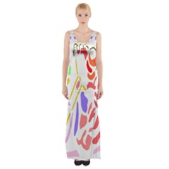 Motorcycle Racing The Slip Motorcycle Maxi Thigh Split Dress