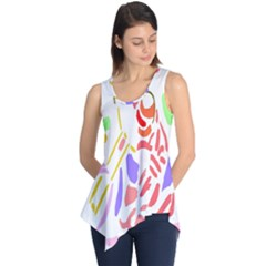 Motorcycle Racing The Slip Motorcycle Sleeveless Tunic
