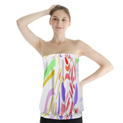 Motorcycle Racing The Slip Motorcycle Strapless Top