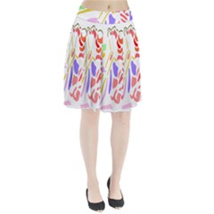 Motorcycle Racing The Slip Motorcycle Pleated Skirt