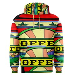 Coffee Tin A Classic Illustration Men s Pullover Hoodie