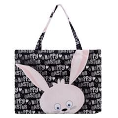 Easter bunny  Medium Zipper Tote Bag