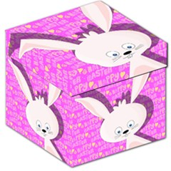Easter bunny  Storage Stool 12
