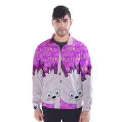 Easter bunny  Wind Breaker (Men)