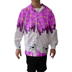Easter bunny  Hooded Wind Breaker (Kids)