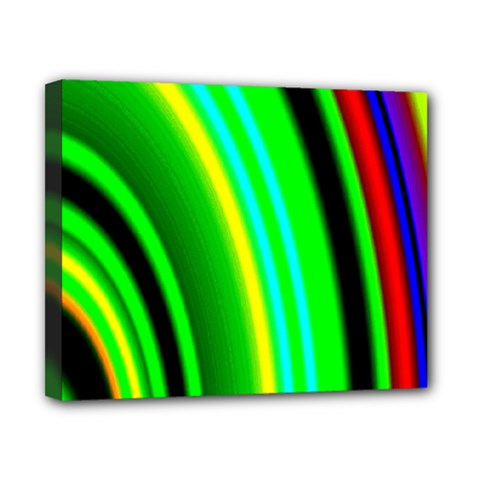 Multi Colorful Radiant Background Canvas 10  x 8