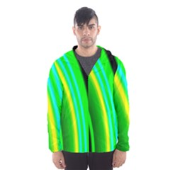 Multi Colorful Radiant Background Hooded Wind Breaker (Men)