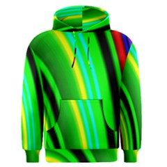Multi Colorful Radiant Background Men s Pullover Hoodie