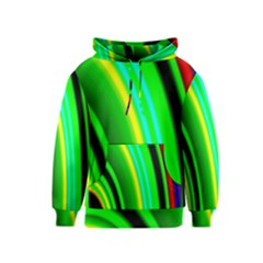 Multi Colorful Radiant Background Kids  Pullover Hoodie