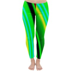 Multi Colorful Radiant Background Classic Winter Leggings