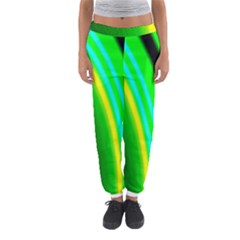 Multi Colorful Radiant Background Women s Jogger Sweatpants