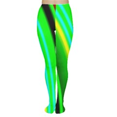 Multi Colorful Radiant Background Women s Tights