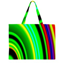 Multi Colorful Radiant Background Large Tote Bag