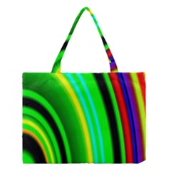 Multi Colorful Radiant Background Medium Tote Bag
