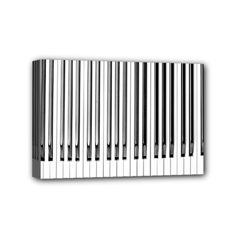 Abstract Piano Keys Background Mini Canvas 6  x 4