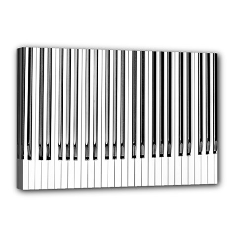 Abstract Piano Keys Background Canvas 18  x 12