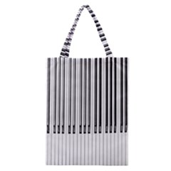 Abstract Piano Keys Background Classic Tote Bag