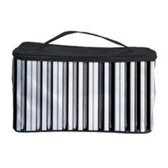 Abstract Piano Keys Background Cosmetic Storage Case