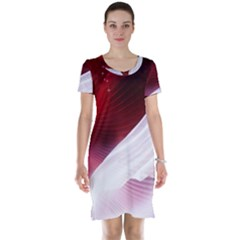 Dreamworld Studio 2d Illustration Of Beautiful Studio Setting Short Sleeve Nightdress