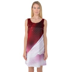 Dreamworld Studio 2d Illustration Of Beautiful Studio Setting Sleeveless Satin Nightdress