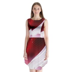 Dreamworld Studio 2d Illustration Of Beautiful Studio Setting Sleeveless Chiffon Dress