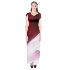 Dreamworld Studio 2d Illustration Of Beautiful Studio Setting Short Sleeve Maxi Dress