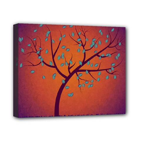 Beautiful Tree Background Canvas 10  x 8