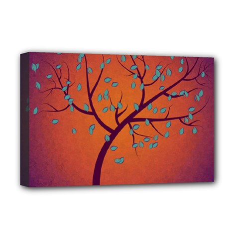 Beautiful Tree Background Deluxe Canvas 18  X 12