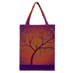 Beautiful Tree Background Classic Tote Bag