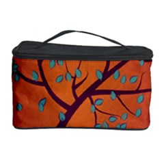 Beautiful Tree Background Cosmetic Storage Case