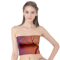 Beautiful Tree Background Tube Top