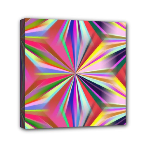 Star A Completely Seamless Tile Able Design Mini Canvas 6  x 6