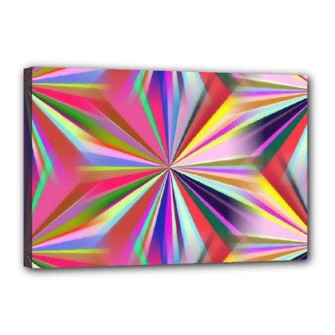 Star A Completely Seamless Tile Able Design Canvas 18  X 12