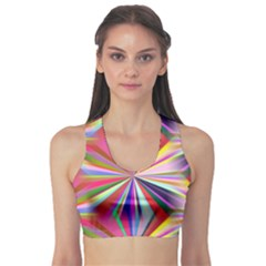 Star A Completely Seamless Tile Able Design Sports Bra